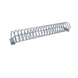 Support rack à vélo spirale