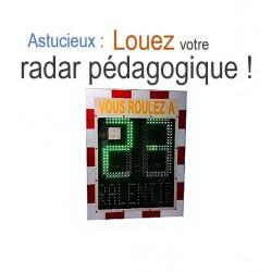 Visuel du logo Location radar préventif - Offre de Leader Equipements