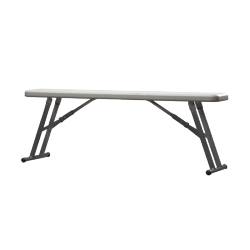 Banc pour table polypro 122 cm
