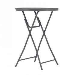 Table de cocktail pliante 81 cm