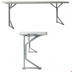 Table-comptoir pliante 183 cm