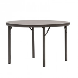 Table ronde en plastique pour salle de fête