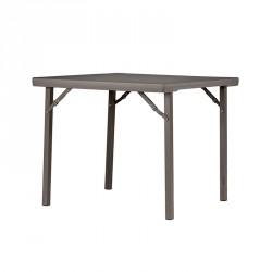 Petite table carrée polypro 91 cm