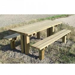 Table pique-nique en bois Océane