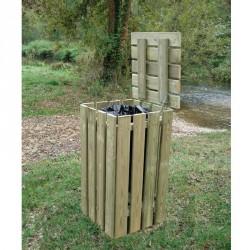 Corbeille campagnarde en bois 100litres