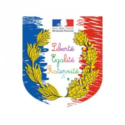 Écusson spécial écoles françaises