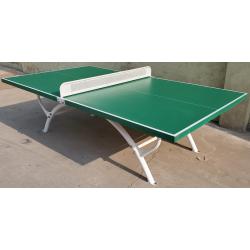 Visuel de la table de jeu ping pong plateau SMC et piétement métal - Leader Equipements