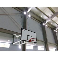 But de basket intérieur mural et rabattable, profondeur ajustable