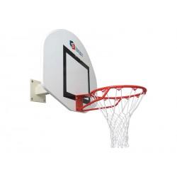 But de basket mural pour intérieur. Profondeur ajustable