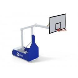 But de basket extérieur sur roues