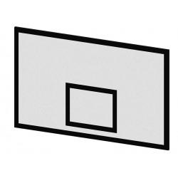 Panneau de basket pour intérieur et extérieur