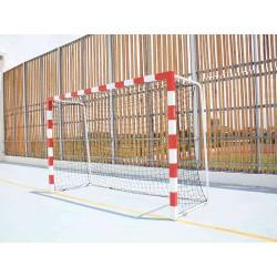 Cage de handball en acier galvanisé