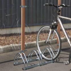 Râtelier en acier pour ranger 3 vélos