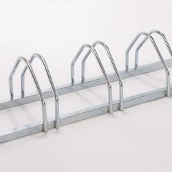 Râtelier en acier galvanisé à chaud pour 5 vélos