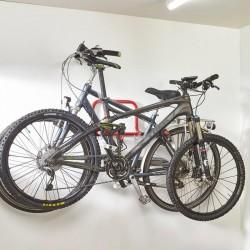 Support en acier pour 2 vélos