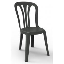 Chaise polypro, légère grise