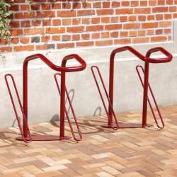 Barrière range 2 vélos avec blocage de la roue et du cadre