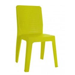 Chaise polypro vert anis pour collectivité et entreprise privée