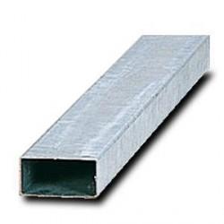Poteau rectangle pour panneau - taille du poteau 80 x 40 mm