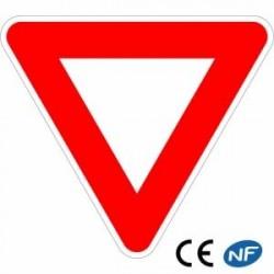 Panneau de circulation cédez le passage Ab3