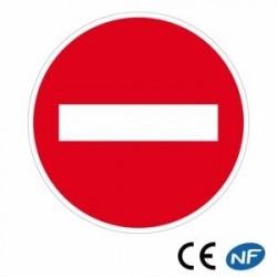 Panneau de circulation indiquant un sens interdit