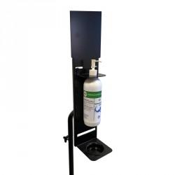 Trépied de distribution de gel hydroalcoolique