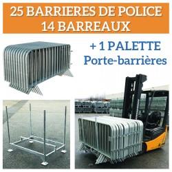 Visuel de la barrière de sécurité 14 barreaux - Leader Equipements