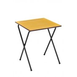 Table d'examen pliante individuelle 70 x 50 cm