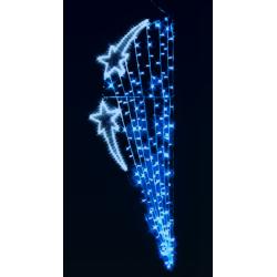 Décoration et illumination de Noël : étoile parachute