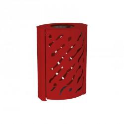 Corbeille en acier Venise - 120 Litres