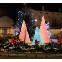Sapin de Noël lumineux - Hauteur 150 cm