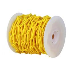 Bobine de chainette en plastique Jaune