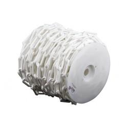 Bobine de chainette en plastique blanc