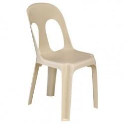 Chaise empilable de collectivités Sirtaki