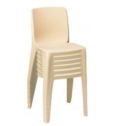Chaise en plastique monobloc Denver