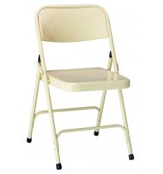 Chaise pliante en métal Gênes