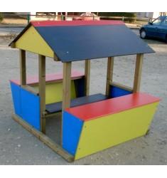 Cabane enfant - modèle Auberge