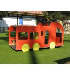 Structure en camion de pompier