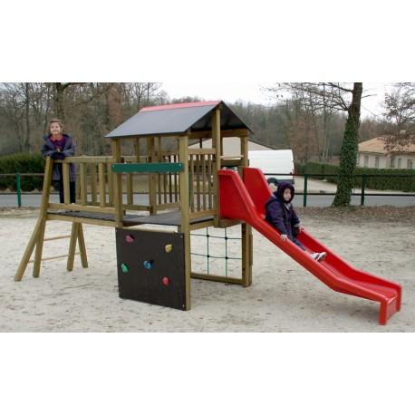 structure de jeu ext rieur gymino jeu ext rieur pour enfants en bois. Black Bedroom Furniture Sets. Home Design Ideas