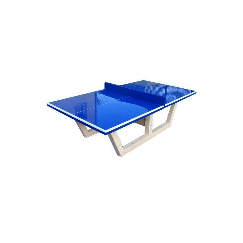 Table ping pong en b ton arm table de tennis de table tout b ton - Table ping pong exterieur beton ...