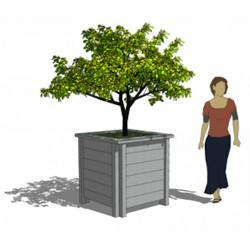 Visuel de la jardinière de ville Pise