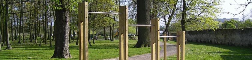 Parcours de santé : à l'école … et dans les parcs publics