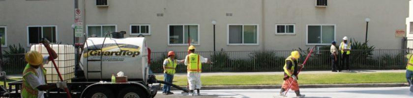 Los Angeles et ses rues blanches pour lutter contre la chaleur