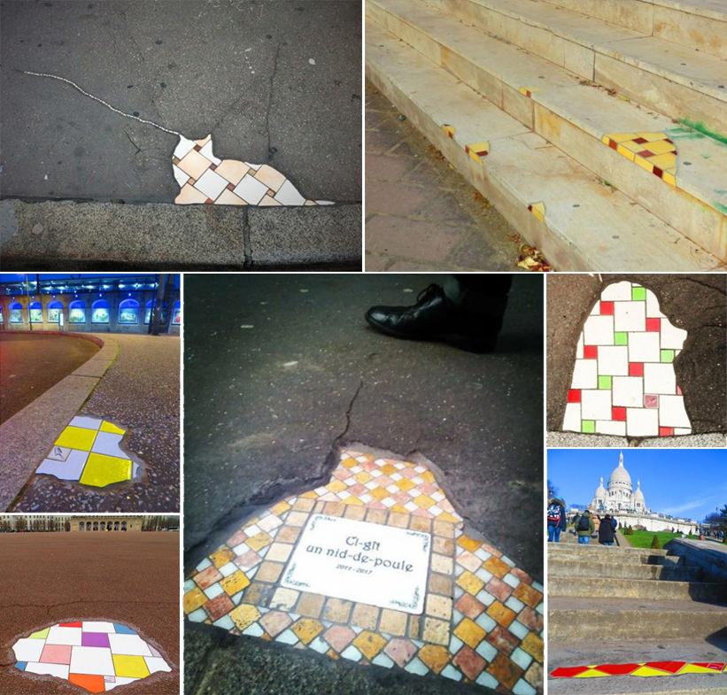 Exemple de flacking réalisés par Ememem