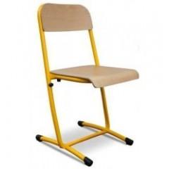 Chaise et banc d'écolier