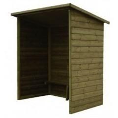 abri de bus en bois abribus scolaire en bois mobilier urbain pas cher leader equipements. Black Bedroom Furniture Sets. Home Design Ideas