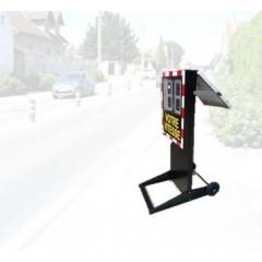 Radar pédagogique mobile