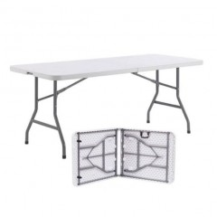 Table pliante polypro