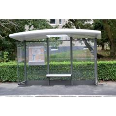 mobilier urbain abribus en bois aubette de bus abribus moderne leader equipements. Black Bedroom Furniture Sets. Home Design Ideas