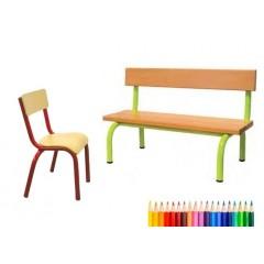 Banc et chaise